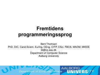 Fremtidens programmeringssprog