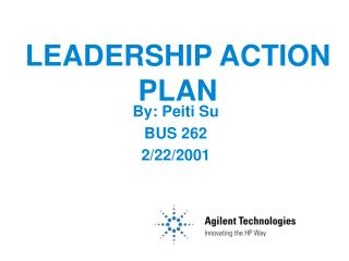 LEADERSHIP ACTION PLAN