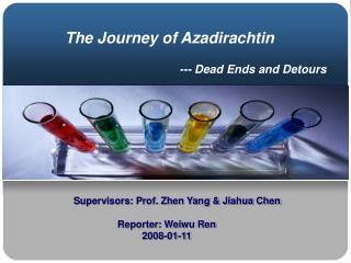 --- Dead Ends and Detours