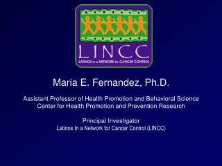 LINCC Investigators and Staff