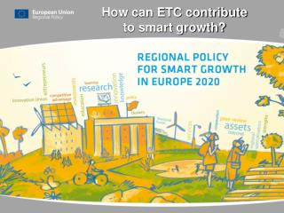 How can ETC contribute  to smart growth?