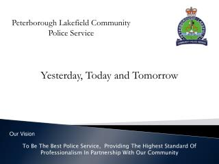 Peterborough Lakefield Community Police Service