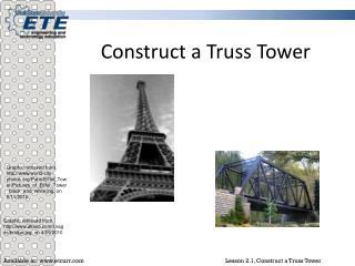 Construct a Truss Tower