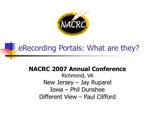 eRecording Portals: What are they?