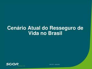 Cen�rio Atual do Resseguro de Vida no Brasil