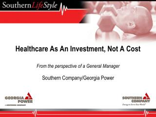 Healthcare As An Investment, Not A Cost