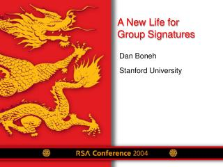 A New Life for  Group Signatures