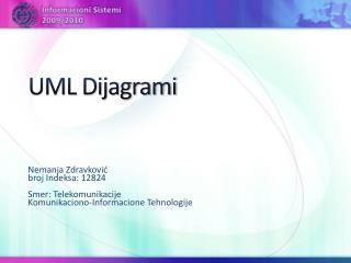UML Dijagrami