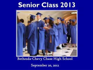 Senior Class 2013