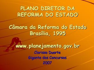 Clarissa Duarte Gigante dos Concursos 2007
