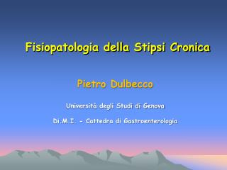 Pietro Dulbecco