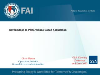 Seven Steps to Performance Based Acquisition
