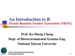 An Introduction to R Pseudo Random Number Generation (PRNG)