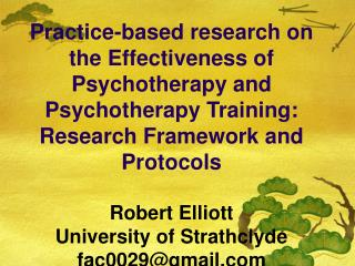 Research-Practice Gap in Era of Evidence-Based Mental Health