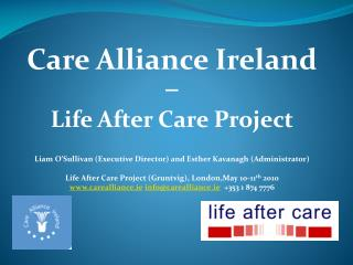 Care Alliance Ireland –  Life After Care Project
