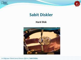Sabit Diskler