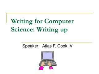Writing for Computer Science: Writing up