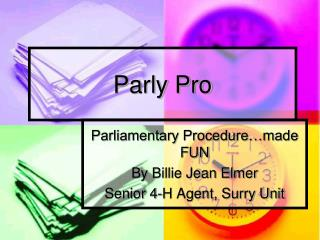 Parly Pro