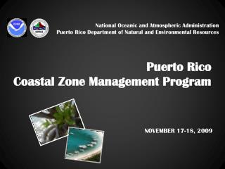 Puerto Rico  Coastal Zone Management Program