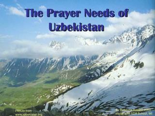 The Prayer Needs of Uzbekistan