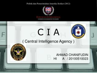 AHMAD CHANIFUDIN HI A   / 20100510023