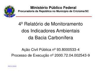 Ministério Público Federal Procuradoria da República no Município de Criciúma/SC