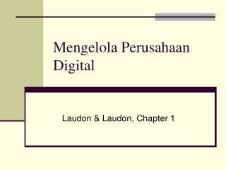 Mengelola Perusahaan Digital