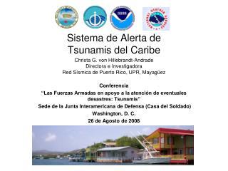 Sistema de Alerta de  Tsunamis del Caribe