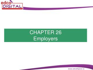 CHAPTER 26 Employers
