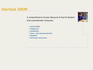 A comprehensive Human Resource & Payroll System that automatically computes:
