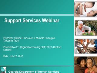 Support Services Webinar