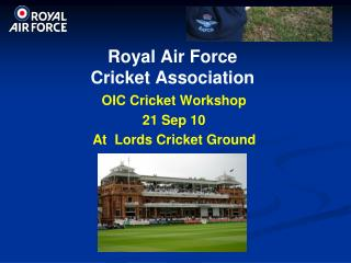 Royal Air Force  Cricket Association