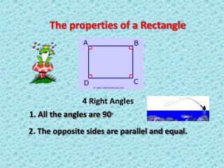 The properties of a Rectangle