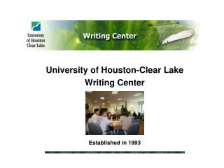 University of Houston-Clear Lake Writing Center