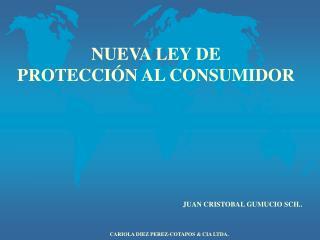 NUEVA LEY DE  PROTECCI�N AL CONSUMIDOR