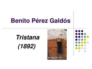 Benito P�rez Gald�s