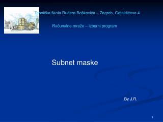 Subnet maske