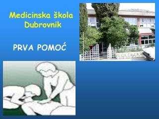 Medicinska škola  Dubrovnik