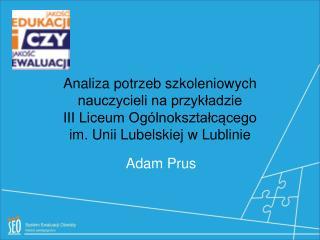 Adam Prus