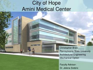 City of Hope Amini Medical Center