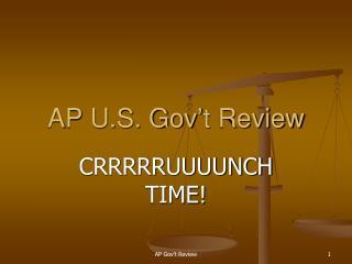 AP U.S. Gov't Review