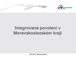 Integrovaná povolení v Moravskoslezském kraji