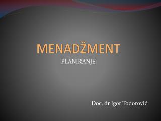 MENAD�MENT