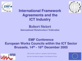 EMF Conference  European Works Councils within the ICT Sector