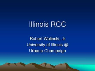Illinois RCC