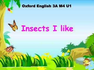 Oxford English 3A M4 U1