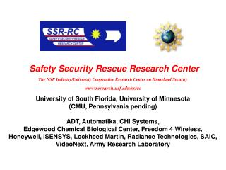 The NSF Industry/University Cooperative Research Center on Homeland Security