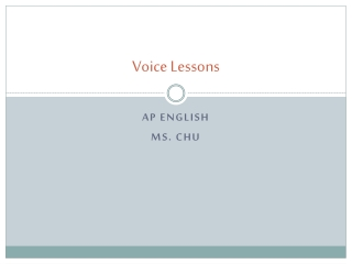 Voice Lessons Imagery