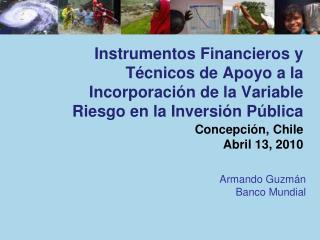 Armando Guzmán Banco Mundial