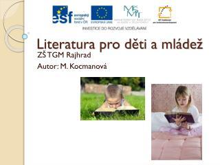 Literatura pro děti a mládež